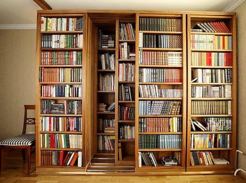 Кабинеты, книжные шкафы - фотографии.
